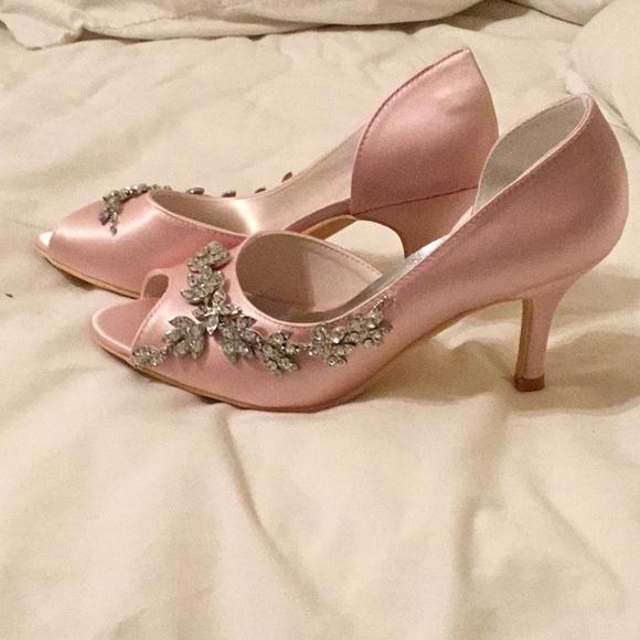 Elegant park Shoes | Pink Prom Shoes